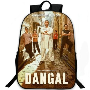 Sac à dos Dangal Sac à dos Aamir Khan Sac à dos en film de lutte Sac à dos de loisir Sac à dos de sport Sac de sport en plein air