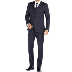 Costume mâle mince marié marié vêtements pour hommes porter des costumes commerciaux costumes hommes costumes (veste + pant + cravate)