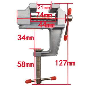 Nuevo Mini vise herramienta de bricolaje aleación de aluminio pequeño tornillo Envío gratis