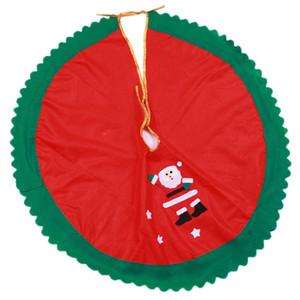 90cm Weihnachtsmann-Baum-Rock-Weihnachtsbaum-Rock-Weihnachtsbaum Weihnachten liefert Weihnachtsdekorationen 2-Design