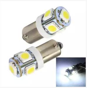 30 pcs / lot BA9S ampoule 5SMD 5050 Voiture LED SMD pour voiture auto indicateur lumineux, feux de clignotants arrière feux de stationnement DC 12V