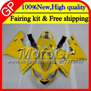 Bodys For Triumph Daytona 600 03 05 650 03 04 05 Stock amarillo Daytona600 6GP6 Daytona650 Daytona 650 600 2003 2004 2005 Motorcycle Fairing