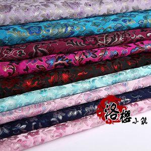 Nuovo cinese Hanfu Tang Costume Dress Baby vestiti Kimono Cuscino Cuscino Cos broccato di seta Tessuto nuvola di raso