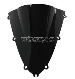 Pare-brise de pare-brise de bulle de moto double pour 1998-1999 Yamaha YZF 1000 R1 98 99 noir