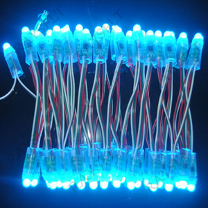 Wholesale-100PCS 12mm DC5V WS2811 Module Diffused Digital RGB LED Pixels Full Color Christmas P68 Waterproof Outdoor Lighting LED Pixel