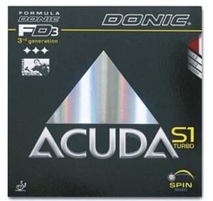 DONIC Acuda S1 Acuda S1 Turbo raquetas de tenis de mesa mesa de tenis de caucho deporte de raqueta de tenis cubierta de tabla de caucho del ping-pong