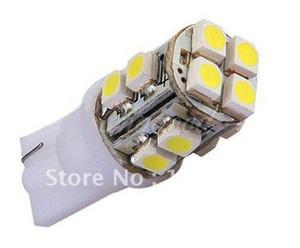 무료 배송 50pcs T10 12SMD 1210 3528 슈퍼 밝은 LED 실내 조명 CAR LAMP
