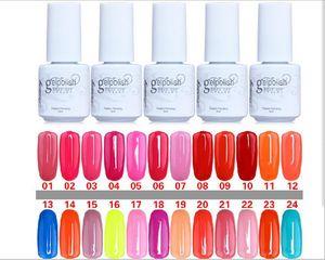 nice 168 colors 5ML high quality soak off led uv gel polish nail gel lacquer varnish gelish AFFB12