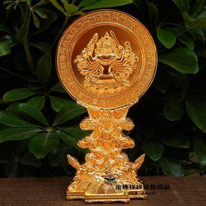 {Margin} Cheung Yiwu Golden Buddha Ssangyong seat quasi mention exquisite golden mirror Tantric Buddhist supplies