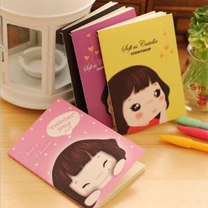 Großhandels- 12pcs / lot Wholesale neue Art und Weise nette reizende Mädchen-Notizbuchtasche Buchplaner-Tagesordnungsbuch