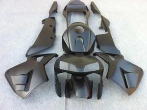 Kit de rebarba para HONDA CBR600RR 03 04 CBR 600RR CBR 600 RR F5 2003 2004 preto fosco Carenagens + 7 compartimentos !! HW79