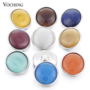 Vocheng Noosa 9 Colors Snap Interchangeable 18mm Button Jewelry (Vn-966)
