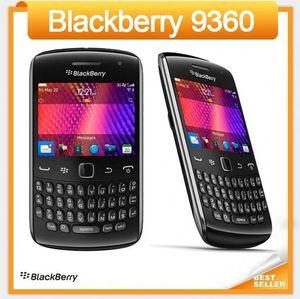 Оригинальный Curve 9360 Мобильный телефон BlackBerry OS 7,0 GPS WIFI 3G мобильный телефон Восстановленное