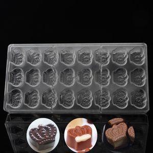 Yeni Tasarım Mutfak Bakeware Pasta Araçları Plastik Çikolata Kalıpları, Toptan Polikarbonat Pişirme Pan Pişirme Formu Pişirme Çanak
