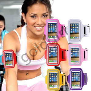 Sport Gym Running Armband Protector Soft Custodia impermeabile Custodia Cover band braccio per iphone 5 5s 6 6s 7 plus Samsung Galaxy note 3 S3 4 5