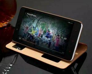 De protection pour Xiaomi Hongmi Note 3 Cas Coloré Flip Cover Window luxe Stand Véritable Etui En Cuir Pour Xiaomi Hongmi Redmi Redrice Note 3