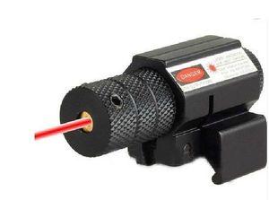 Red Dot Laser Sight 635-655nm Mini regolabile Caccia airsoft Camping Outdoor