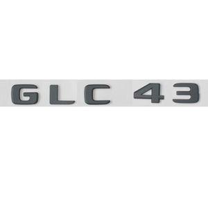 Black GLC 43 Trunk Letters Number Emblem Sticker for Mercedes Benz GLC 43 2017