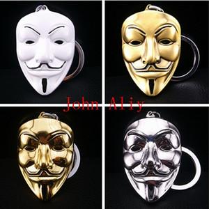 Frete grátis preço barato chaveiro V chaveiro filme V para máscara de vingança em torno do pingente de chaveiro