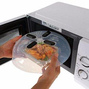 Alimentos pantalla protectora Microondas Hover cubierta que aisla Sputtering Covers Horno casquillo del aceite de calefacción selladas cubierta de plástico plato platos cubierta OOA3620
