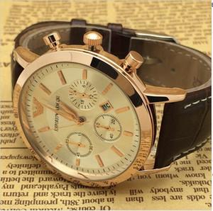 유명한 로고 유명한 브랜드 기계식 자동 시계 망 클래식 손목 시계 블랙 다이얼 가죽 스트랩 망 시계 크리스마스 선물
