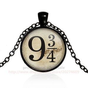 نمط جديد هاري و بوتر المجوهرات هدية عيد 4 ألوان سبائك الذهب الوقت gemstone قلادة قلادة لرجل امرأة الاطفال