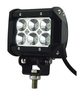 """Бесплатная доставка 4 """" 18W 6-LED * (3W) CREE LED рабочий свет бар внедорожник ATV 4WD 4x4 9-32V 1600lm IP67 JEEP мотоцикл головные лампы"""