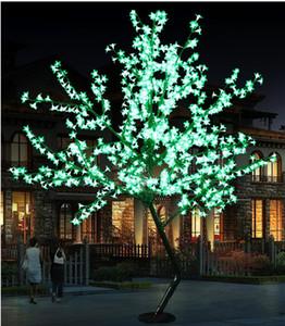 2020 LED Cherry Blossom Tree Luz 864pcs Lâmpadas LED 1,8 m Altura 110 / 220VAC Sete Cores para a Opção Rainproof Outdoor Uso Drop Shipping
