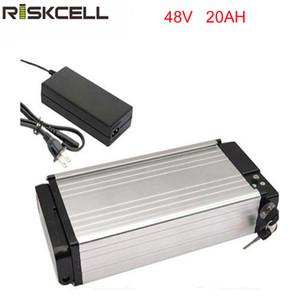 Batterie de vélo électrique 48v 1000w Batterie 48V 20Ah pour moteur 48v bafang / 8fun 750w / 1000w avec boîtier en aluminium + Chargrer