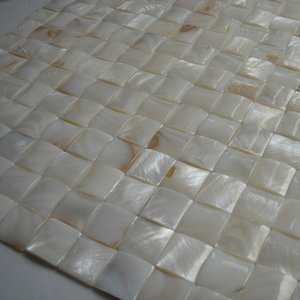 20x20mm natural color Mother Of Pearl shell mosaic tile , arch shape background, border, furniture tile #MS127