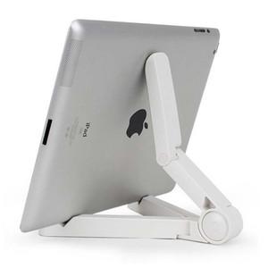 Гибкий универсальный регулируемый Складной держатель стенд держатель кронштейн штатив Колыбель для iPhone Samsung iPad Mini Tablet PC стенд ..