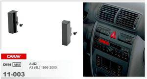 CARAV 11-003 Top Quality Car Fascia Panel Frame for Audi A3 Radio Stereo Facia Dash CD Trim Installation Kit Surround Fitting ONE Din
