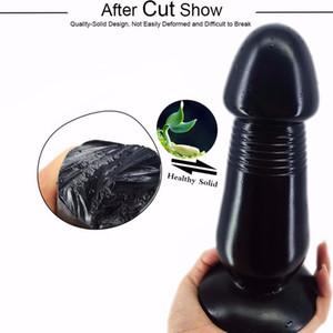 FAAK anal yapay penis anal plug büyük dildo büyük popo fiş stoper büyük anal genişleme seks oyuncakları vajina G noktası teşvik seks shop