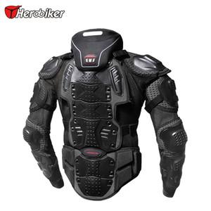 HEROBIKER Motorrad Rüstung Jacke Motocross Rennen Reiten oder Fahren Offroad-Schutzausrüstung Body Guards Außen Sport In Neck Prodector