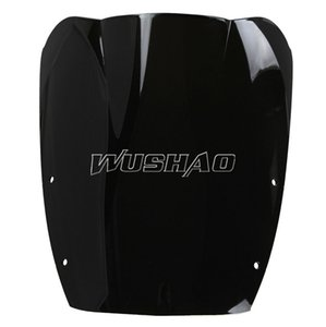 Motorcycle Double Bubble Windshield WindScreen For 1987-1997 Suzuki GSX600F GSX750F GSX 600F 750F Katana 92 93 94 95 96 97 Black