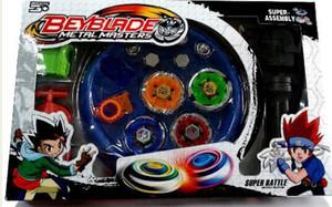 Livraison Gratuite 4pcs / set Beyblade Arena Spinning Top Combat En Métal Beyblad Beyblade Métal Fusion Enfants Cadeaux Jouets Classiques