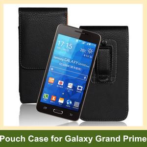Оптовая новейшие зажим для ремня PU кожаный вертикальный флип чехол чехол Чехол для Samsung Galaxy Grand Prime G530 Бесплатная доставка
