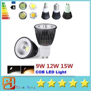 COB E14 E27 Gu10 9W 12W 15W Cool   Warm White LED Spot Light Lamp Bulb Lighting 3 Years Warranty