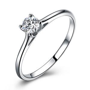 925 Silber Ringe Victoria Wieck Eiffelturm Stil Topas simuliert Diamant 925 Sterling Silber Engagement Ehering Freies Verschiffen