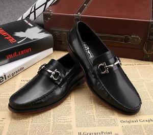hommes chaussures en cuir véritable luxe mocassins à la main glisser sur italien marque designer robe habillée chaussures grande taille 45