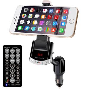 BT8118 Auto FM Transmitter Bluetooth Car Kit V2.1 Handyhalter Freisprecheinrichtung Auto Halter FM Lauch Basis