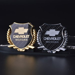 2Pcs Доработка 3D логотип эмблема значок Графика Декаль наклейки автомобилей CHEVROLET