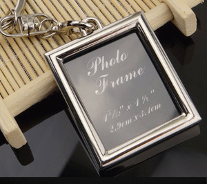 photo frame keychain locket love picture key chain key rings heart pendants bang hangs for women men anniversary present gift
