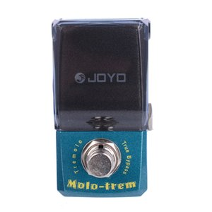 Joyo Ironman JF-325 molo-Trem Tremolo guitarra Pedal Efeito True Bypass com conector pedal de ouro e botão Mooer