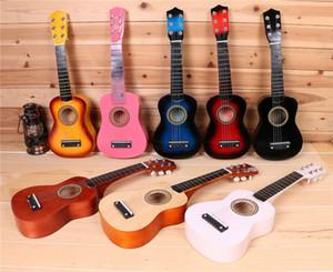 """Chitarra Chitarre Elettriche Chitarre economici Chitarra Pedale Goplus 25"""" principianti bambini chitarra acustica 6 corde con pick Bambini Bambini Musica Moda"""