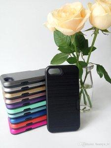 Venda quente PHONE Slot Para Cartão de Crédito Casos de Telefone Para ZTE warp7 / Presithe 2 N9136 / TPU + PC 2 em 1 Slim Caso Capa À Prova de Choque CASE Novos estilos