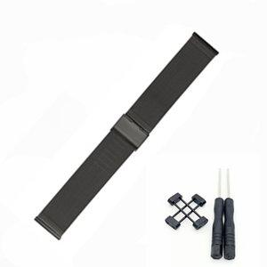 Para Suunto Core Series Assista Milanese Strap Banda de Aço Inoxidável de Alta Qualidade Pulseira 24mm + Adaptador + 2 Pc Ferramenta