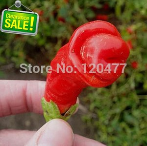 Peter Pepper, O mais engraçado chili, chili super pornô, Parece genitais masculinos - 200 sementes