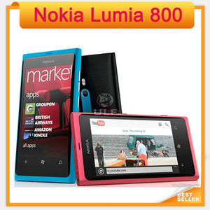 Original Nokia Lumia 800 Mobile Windows OS 16GB ROM 8MP 3G Wi-Fi GPS Bluetooth Cell Phone in Stock!!