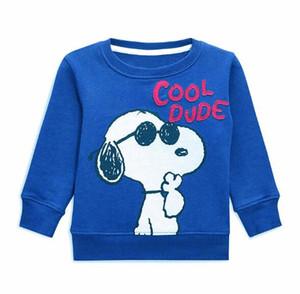 4 estilos camisa primavera outono t BST CHEGADA NOVA pouco maven meninos menina Crianças Cotton Long Sleeve cão dos desenhos animados macaco impressão T camisa menino causal